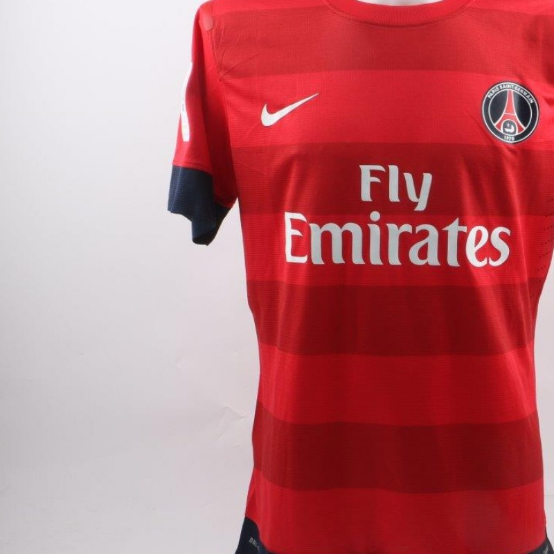 hot sale online 0afef b3a51 Ibrahimovic PSG shirt, issued/worn Ligue 1 2012/2013