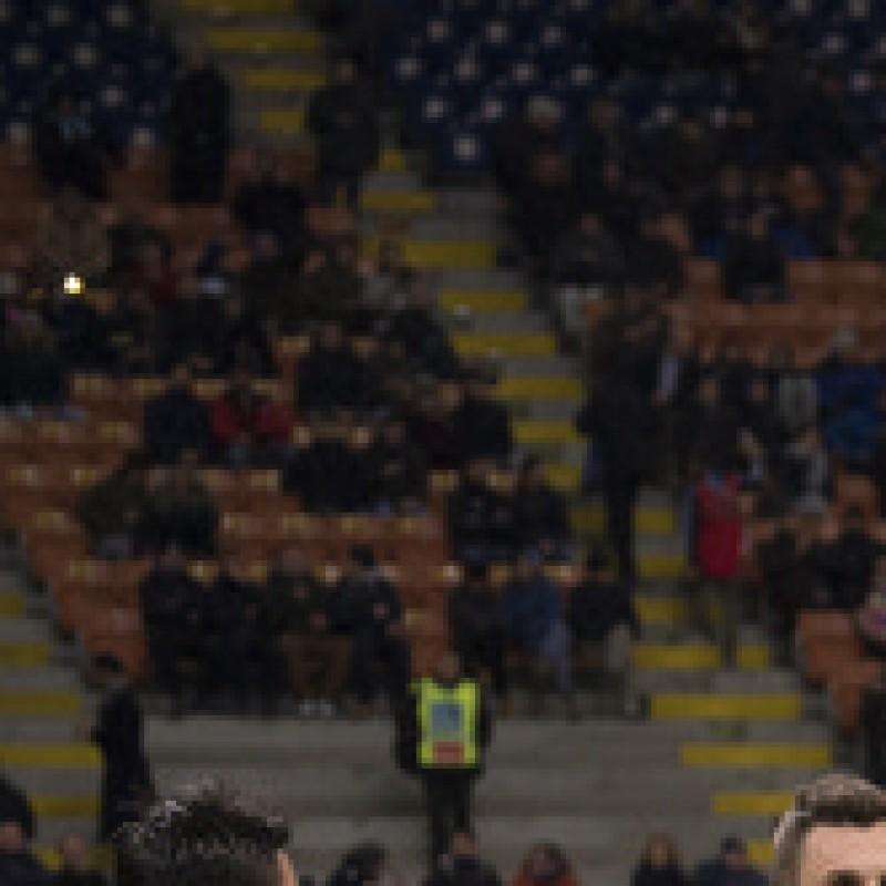 Take to the Pitch as the Inter Milan mascot against Sampdoria