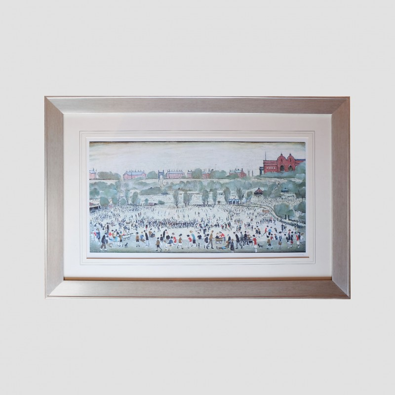 'Peel Park, Salford' Signed by L.S Lowry Numbered