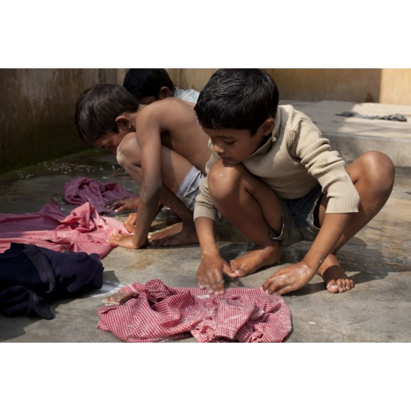 """Laundry - India"" Photograph by Nanni Fontana"