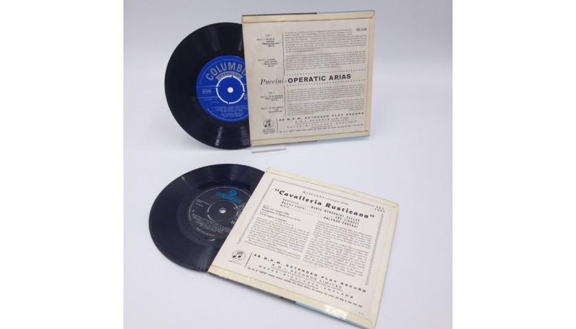 Original 1950s 45 rpm Records by Maria Meneghini Callas