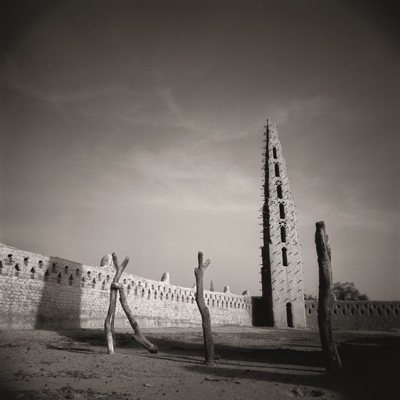 """""""Mali, 7 Moschee"""" by Heinz Schattner"""