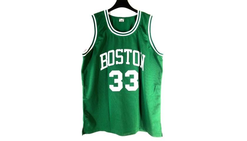 Larry Bird's Official Boston Celtics Signed Jersey
