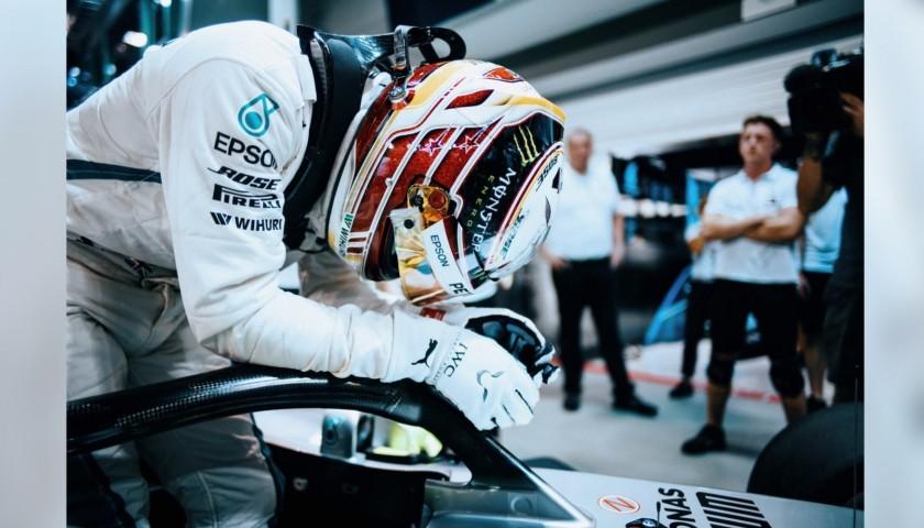 Puma Gloves Personalized for Lewis Hamilton - 2018 Season