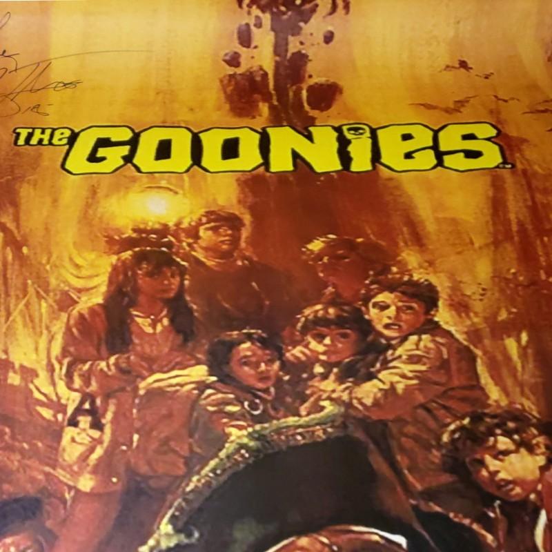 Corey Feldman Hand Signed The Goonies Movie Poster