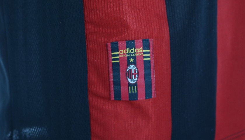 Costacurta's AC Milan Match Shirt, Serie A 1998/99