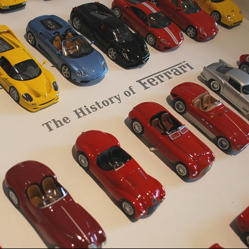 Model Ferrari Collection, 1/43 Scale