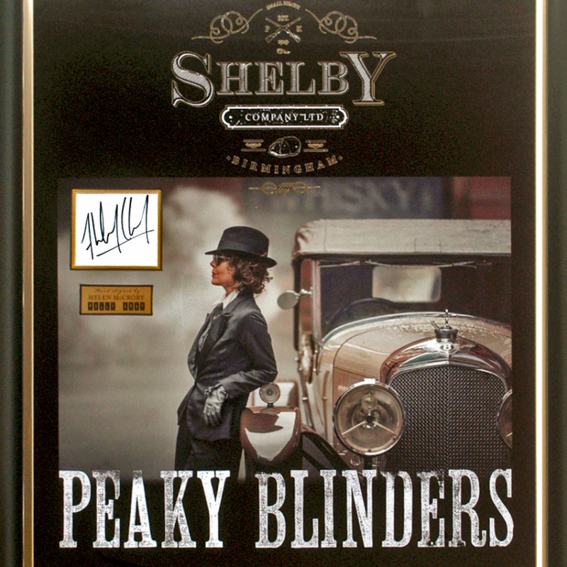 Peaky Blinders Signed Helen McCrory OBE Polly Gray Presentation