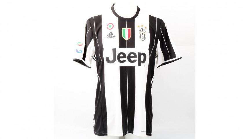 Barzagli s juventus shirt worn serie a charitystars