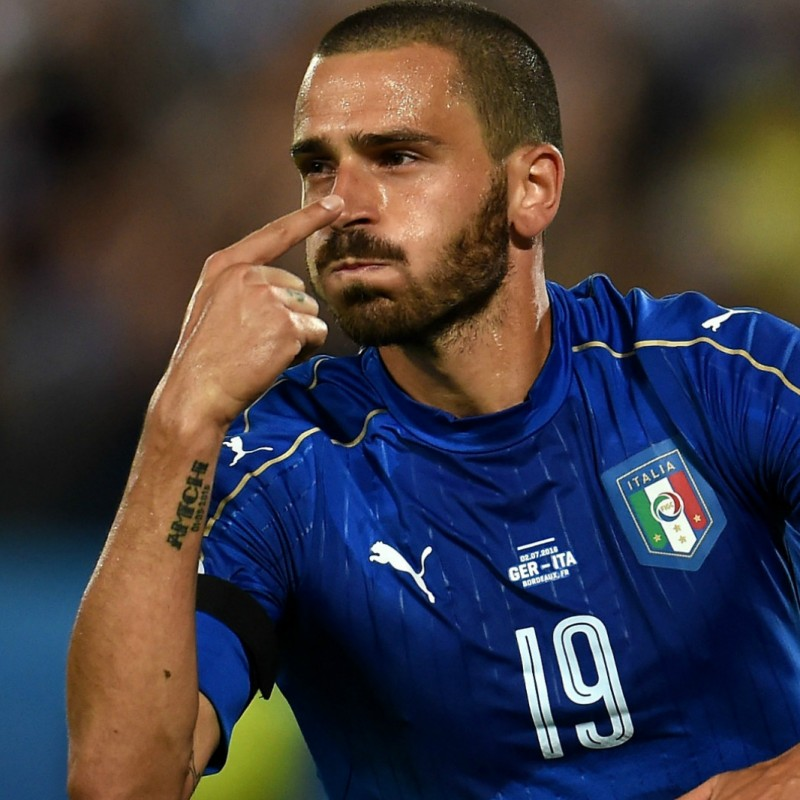 Bonucci Authentic Match, Euro 2016 - Signed