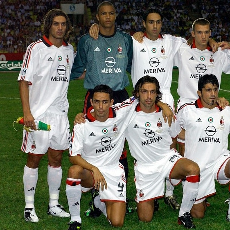 Pirlo's Milan Match Shirt, Serie A 2003/04