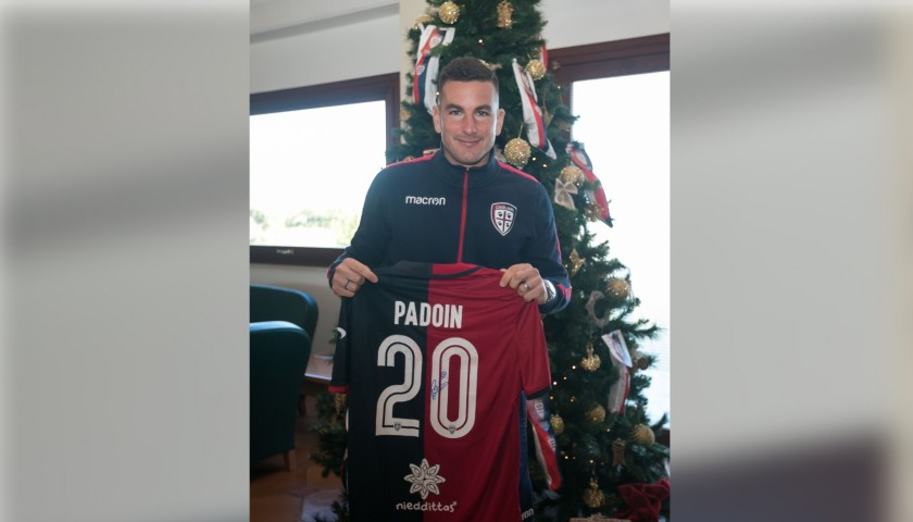 Cagliari Festive Shirt - Worn and Signed by Padoin