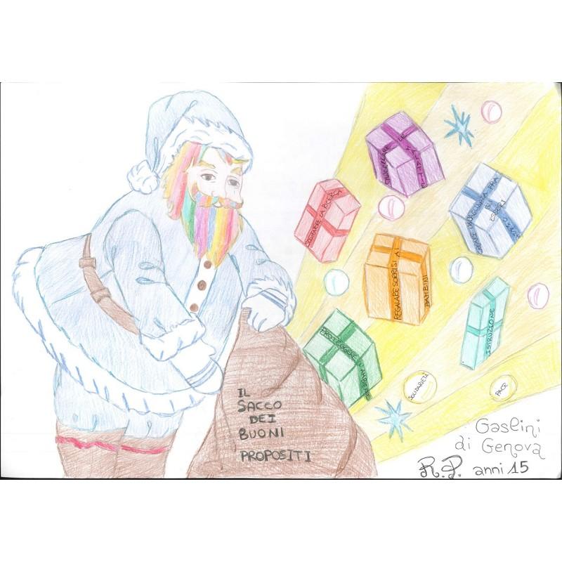 Babbo Natale e i buoni propositi n.30