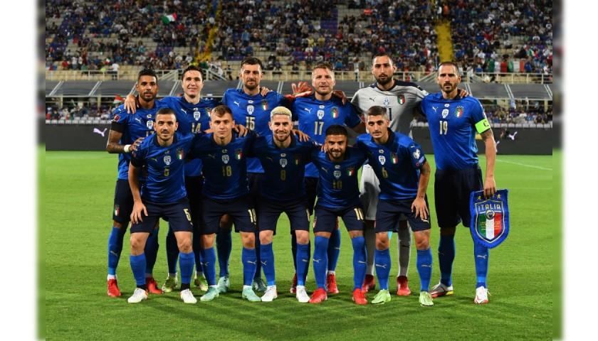 Chiesa's Match Shirt, Italy-Bulgaria 2021
