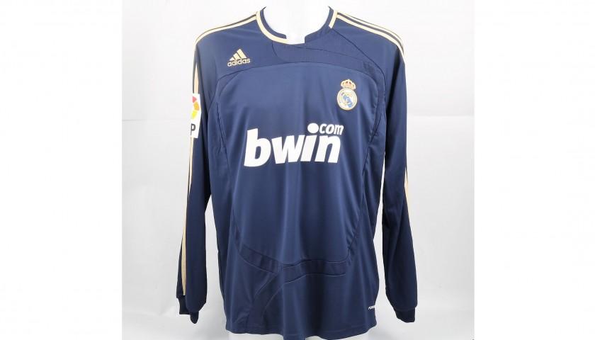 Sneijder's Match-Issued/Worn Real Madrid Shirt, Liga 2007/08