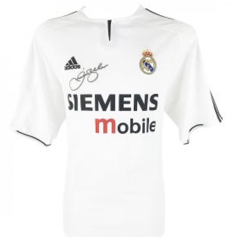 Beckham's Real Madrid Galacticos Signed Shirt