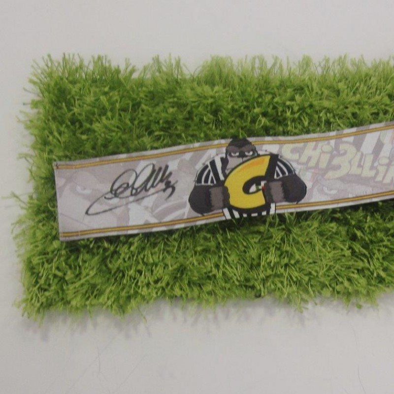 Chiellini match issued/worn armband, Serie A stagione 2014/2015 - signed
