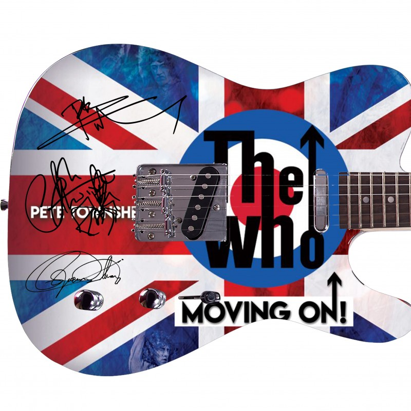 """The Who"" Custom Graphics Guitar"