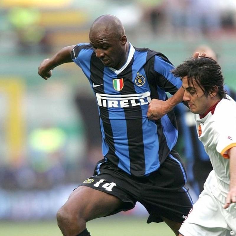 Vieira's Match-Issued/Worn Inter Shirt, UCL 2006/07