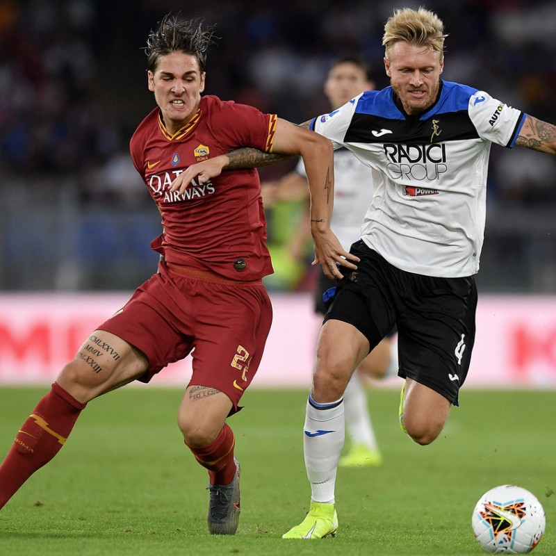 Zaniolo's Official Roma Signed Shirt, 2019/20 Tokidoki Edition