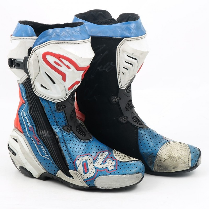 Dovizioso's 2017 Worn and Signed MotoGP Boots