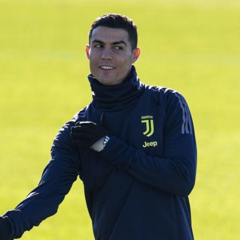 Nike Neck Warmer - Signed by Cristiano Ronaldo