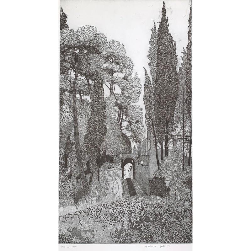 """""""Dietro casa (Rapallo)"""" by Federica Galli"""