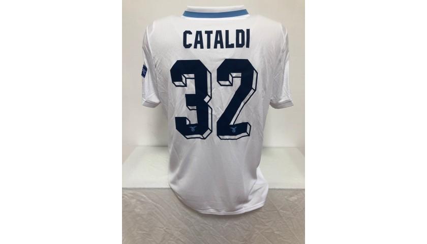 Cataldi's Match Shirt, Lazio-Seville EL 2019