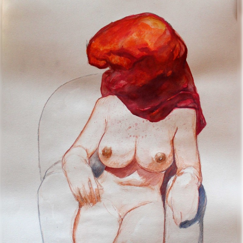 """Untitled"" -  Original Artwork by Tanino Liberatore"