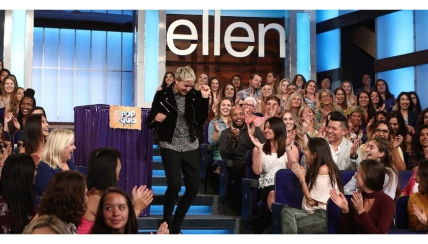 Two VIP Tickets to the Farewell Season of the Ellen Show