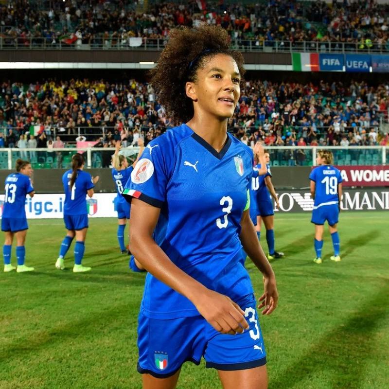 Gama's Match Shirt, Italy-Bosnia 2019