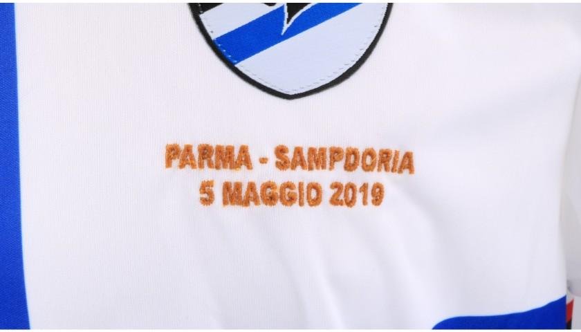 Tavares' Worn Shirt, Parma-Sampdoria - #Blucrociati