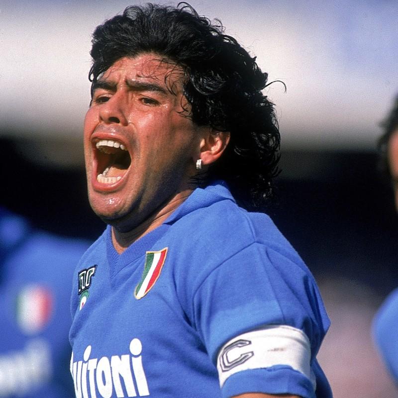 Maglia Maradona Napoli - Autografata
