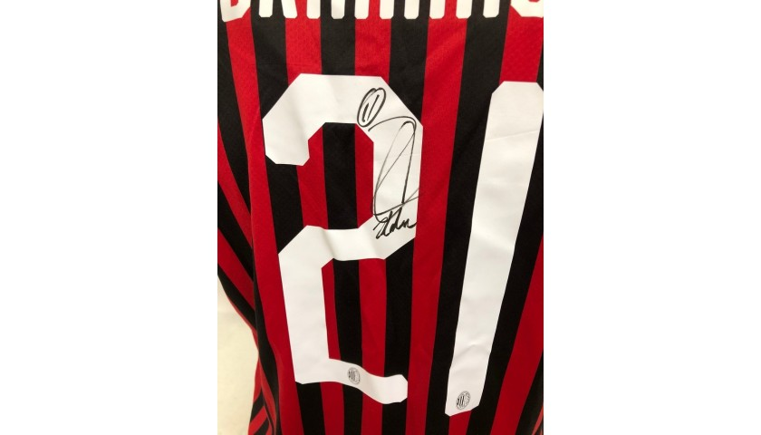 Ibrahimovic's Official Milan Signed Shirt, 2019/20