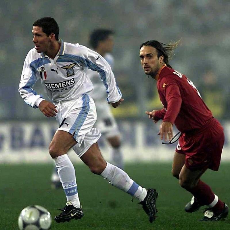 Simeone's Official Lazio Signed Shirt, 2000/01