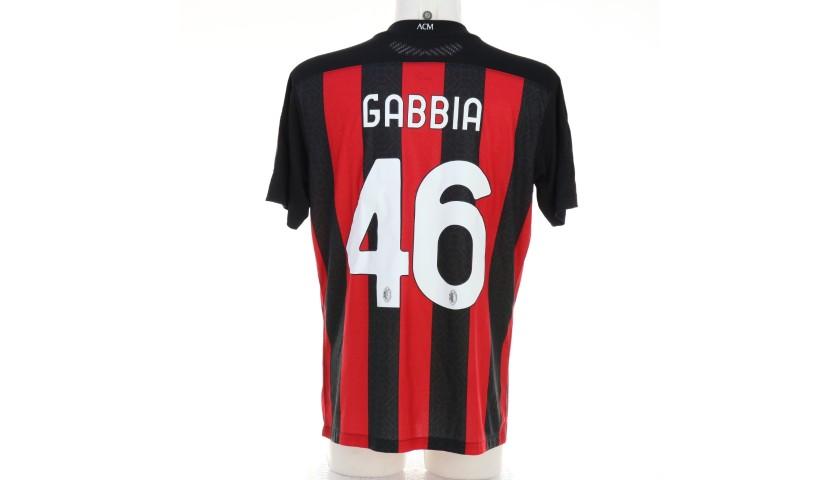 Gabbia's Worn Shirt, Milan-Cagliari 2020