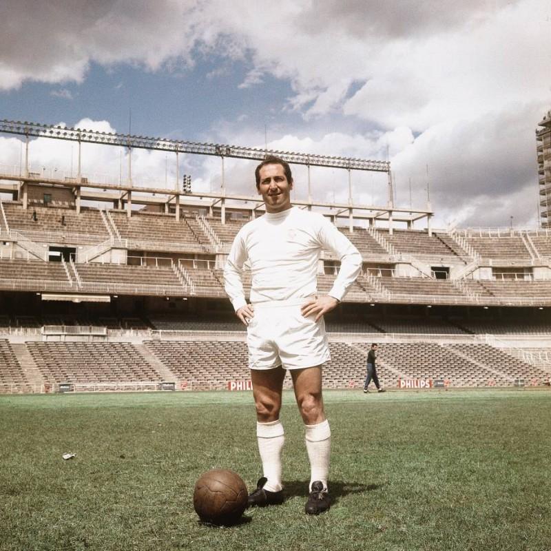 Gento's Real Madrid Match Shirt, 1960s
