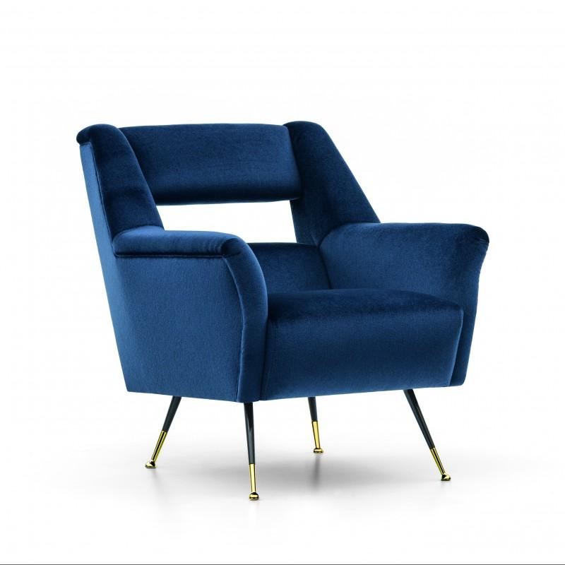 ILE Armchair Designed by Gigi Radice for Minotti Italia