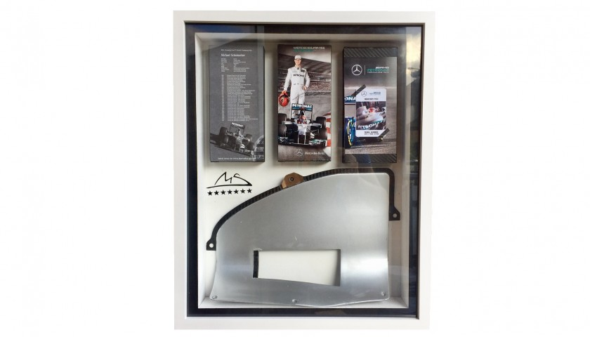 Radiator Inlet Piece from 2011 Mercedes W02 Driven by Michael Schumacher and Nico Rosberg