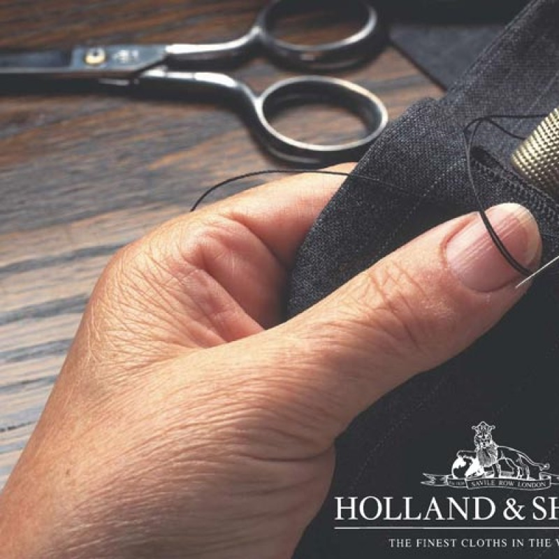 Hand made Holland & Sherry suit
