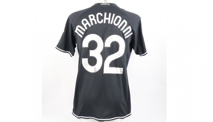 Marchionni's Juventus Match Shirt, TIM Cup 2006/07