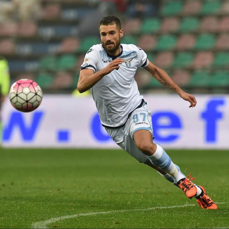 Candreva's Match Shirt, Empoli-Lazio 2015