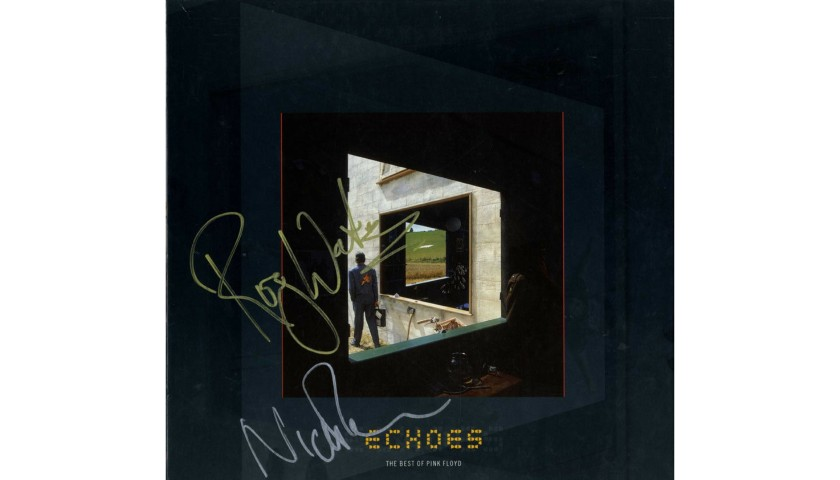 Pink Floyd Roger Waters and Nick Mason Hand Signed Album