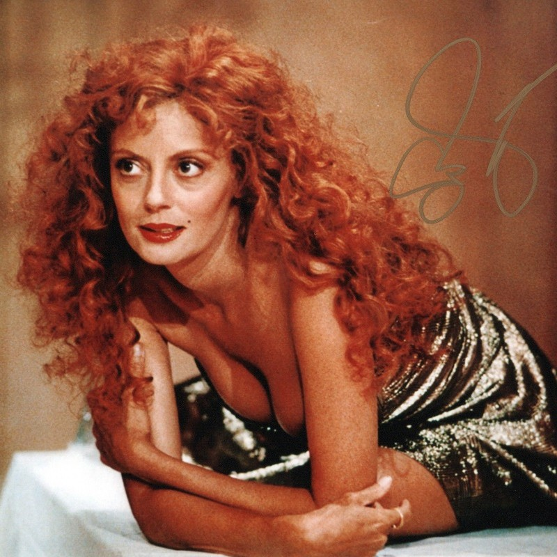 Susan Sarandon Signed Photograph