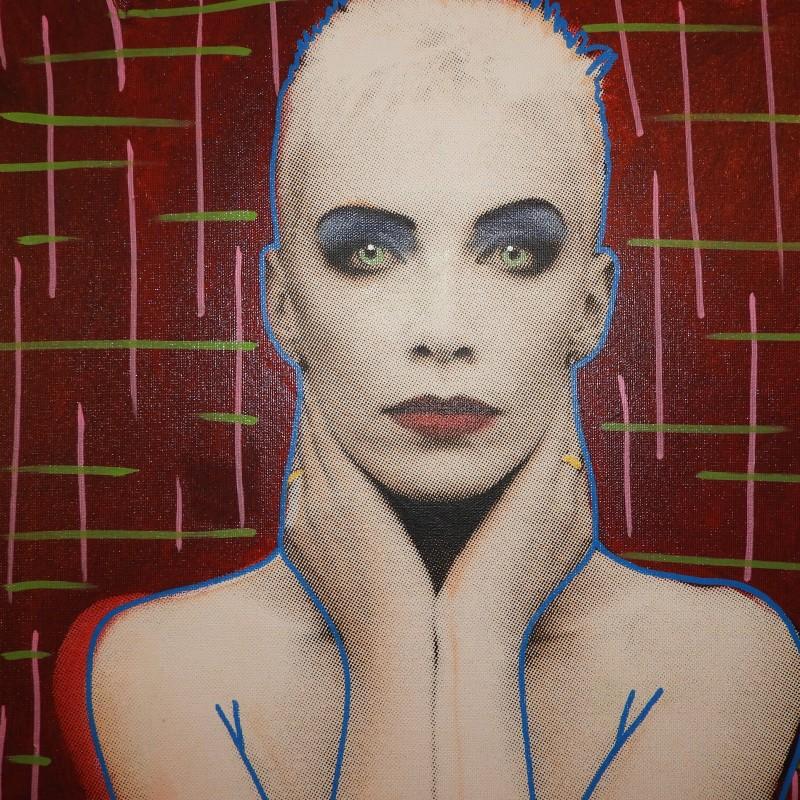 """""""Annie Lennox"""" by Steve Kaufman"""