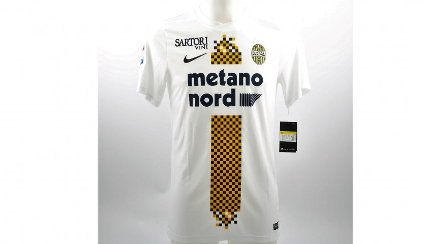 Official 2017/18 Hellas Verona Shirt Signed by Verde