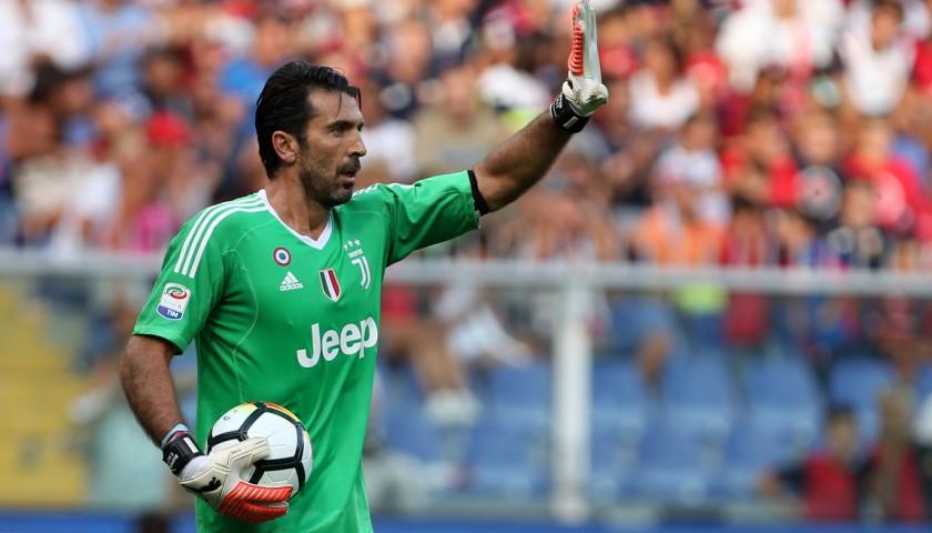 Buffon's Match-Issued/Worn 2017/18 Juventus Shirt – Signed
