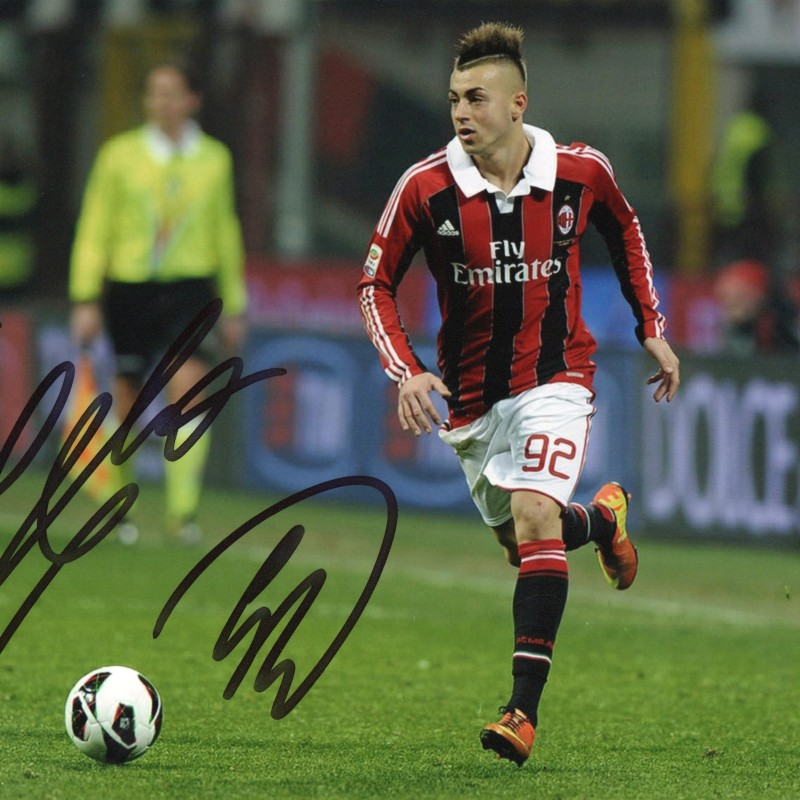 Stephan El Shaarawy Signed Photograph