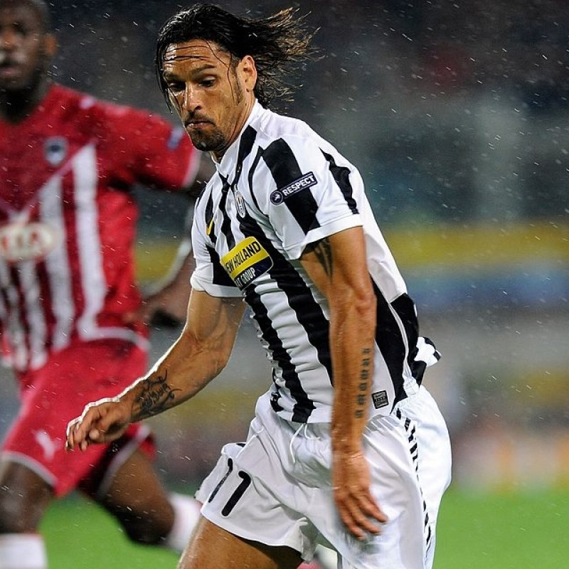 Amauri's Juventus Match Shirt, UCL 2009/10