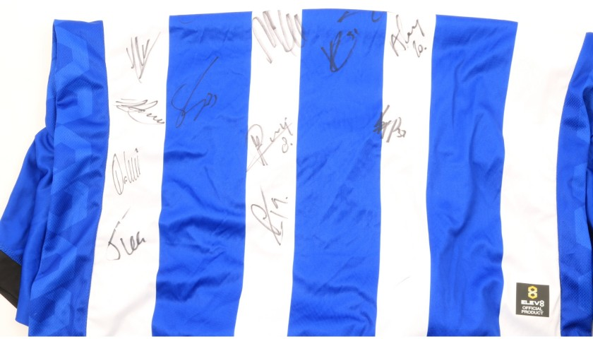 Sheffield Wednesday Official Poppy Shirt Signed by the Team